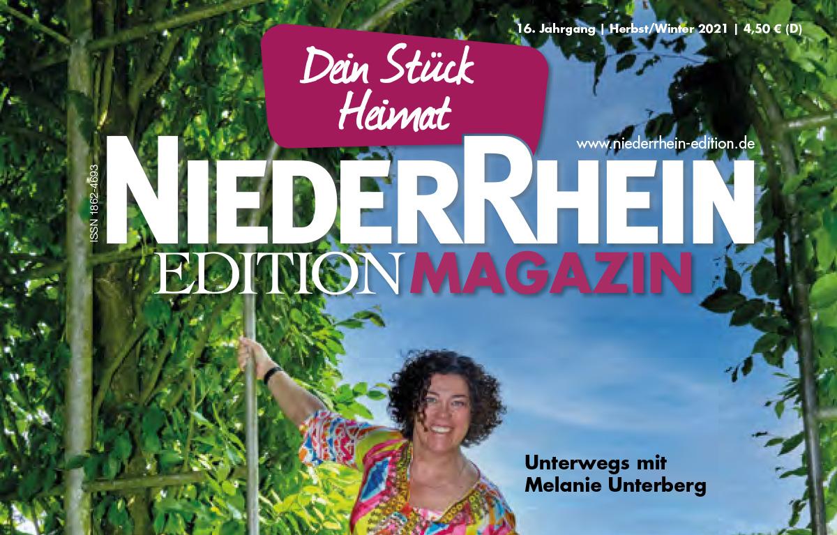Das Magazin Niederrhein Edition unterwegs mit Melanie Unterberg in Kleve